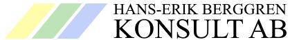 Hans-Erik Berggren Konsult AB
